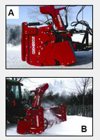 Snowblower Normand function+